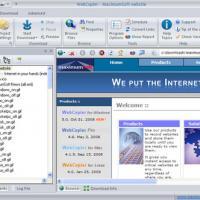 WebCopier (โปรแกรม Offline Browser โหลดหน้าเว็บ มาบนเครื่อง แจกฟรี)