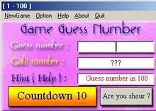 Game Guess Number (เกมส์ ทายตัวเลข แบบหลายระดับ)