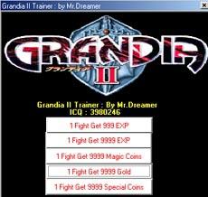 Grandia 2 Trainer