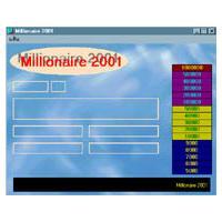 Millionaire (เกมส์เศรษฐี) 2001 0.9 + Patch 1.0