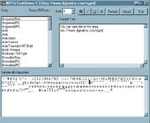 NGPid FontViewer
