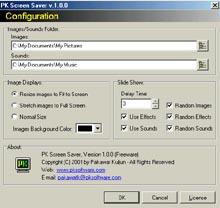 PK Screen Saver (โปรแกรม PK Screen Saver สร้างสกรีนเซฟเวอร์ ฟรี) :