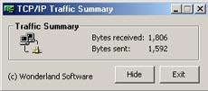 TCP / IP Traffic Summary