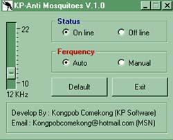 KP-Anti Mosquitoes (โปรแกรม ไล่ยุง)