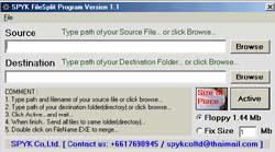 โปรแกรม จิ๋วแจ๋วอัจฉริยะ (SPYK FileSplit)