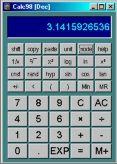 Calc98 (โปรแกรมเครื่องคิดเลข สารพัดประโยชน์) :