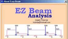 EZ Beam Analysis (วิเคราะห์ และ ออกแบบคานคอนกรีตเสริมเหล็ก)