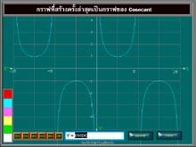 Trigonographer (สร้าง กราฟฟังก์ชั่น ตรีโกณมิติ)