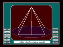 โปรแกรม ศึกษาโครงสร้างพีระมิด (Pyramid Structure)