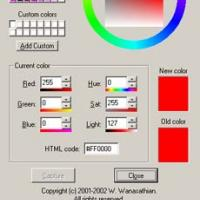 VX Color Dialog Box