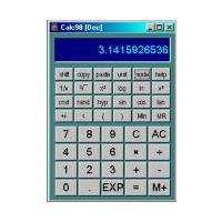 Calc98 (โปรแกรมเครื่องคิดเลข สารพัดประโยชน์)