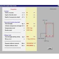 ULTIMATE 2000 (โปรแกรม ออกแบบโครงสร้าง คอนกรีตเสริมเหล็ก)