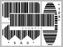 โปรแกรมสร้างบาร์โค้ด Barcode Code 39 Control