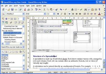 โปรแกรมออฟฟิศฟรี OpenOffice
