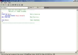 Easy ASP Development Code (โปรแกรม ช่วยเขียน โปรแกรม ของ ภาษา ASP)