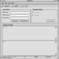 FastEncrpyt (Win32 Version) (โปรแกรม เข้ารหัส ข้อความ)