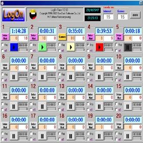 LogOn Timer (โปรแกรม LogOn Timer คิดเงินร้านอินเทอร์เน็ต ฟรี ) :