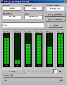 โปรแกรม เพิ่มประสิทธิภาพ ให้ระบบความจำ (Memory Optimizer)