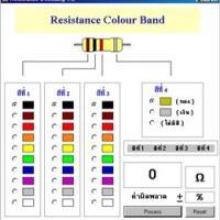 Resistance Decoding (โปรแกรม แปลงค่า ความต้านทาน)