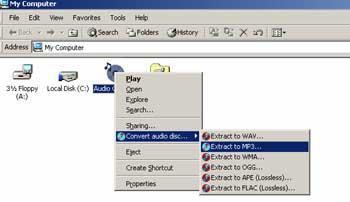 One-click CD Converter