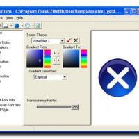 Easy Web Buttons (โปรแกรมสำหรับสร้างปุ่ม 3 มิติ บน เว็บไซต์ ของคุณ)