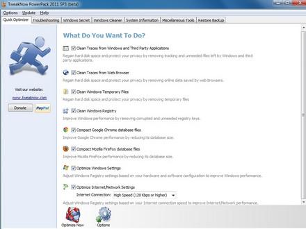 TweakNow PowerPack 2011 (โปรแกรม ปรับแต่งหน้าจอ ให้สุดพิเศษ)