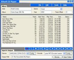 Xilisoft CD Ripper (โปรแกรม Xilisoft CD Ripper ก็อปเพลงจากแผ่น CD เป็น MP3) :