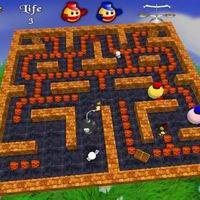 3D Pacman (เกมส์ Pacman 3 มิติ)