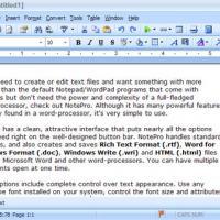 NotePro (โปรแกรม แก้ไขข้อความ คุณภาพสูง)