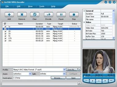 ImTOO MPEG Encoder
