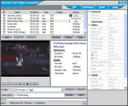 ImTOO 3GP Video Converter (โปรแกรม 3GP Video Converter แปลงไฟล์วีดีโอทุกรูปแบบ) :