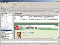 OE-Mail Recovery (โปรแกรม ซ่อมแซมโฟลเดอร์ Outlook Express)