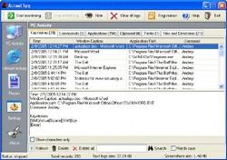 Actual Spy (โปรแกรม ตรวจสอบการใช้งานบน แป้นพิมพ์ - Keyboard)