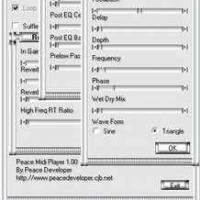 Peace Midi Player (โปรแกรม เล่นเพลงขนาดจิ๋ว)