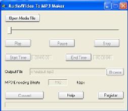AUDIO/VIDEO TO MP3 MAKER (โปรแกรมแปลงไฟล์เสียง และวีดีโอเป็น Mp3 ฟรี) :