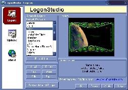 LogonStudio (โปรแกรม เปลี่ยนหน้าจอ LogOn ของ Win XP แจกฟรี)