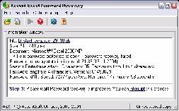 Accent Office Password Recovery (โปรแกรม ช่วยกู้รหัสผ่าน)