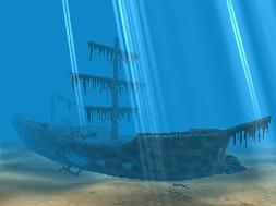 Pirates Ship 3D Screensaver