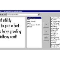 Fonter Viewer (โปรแกรม ดูตัวอย่าง Font ก่อนการใช้งาน)