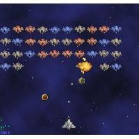 AstroRaid (เกม อาเขต แนวอวกาศ ยิง ยิง ยิง)