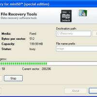 F-Recovery for miniSD