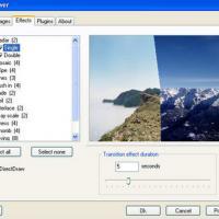 PictureRiver (โปรแกรม สร้าง Screensaver แบบใส่ลูกเล่นมากมาย)