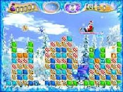 Ice Jam (เกมส์คุณลุง ซานต้ากวาดหิมะ)