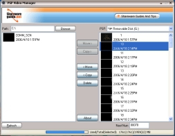 PSP Video Manager