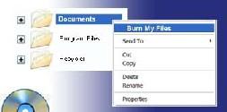 Burn My Files (โปรแกรม Burn My Files ไรท์แผ่นสะดวกรวดเร็ว) :