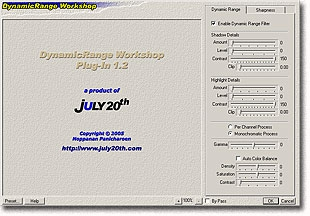 DynamicRange Workshop (Plug-in for Adobe Photoshop)
