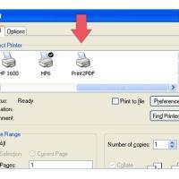 Print2PDF (โปรแกรมแปลงไฟล์ต่างๆเป็นไฟล์ PDF)