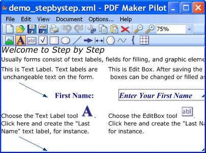 PDF Maker Pilot