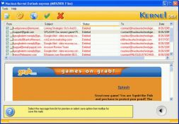 Kernel Outlook Express - Mails Recovery Software