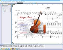 MagicScore School (โปรแกรม MagicScore School เขียนโน๊ตเพลง แต่งโน๊ตดนตรี) :